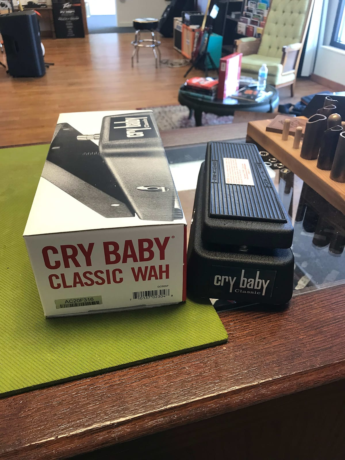 Dunlop GCB-95F Cry Baby Classic Fasel Wah Pedal