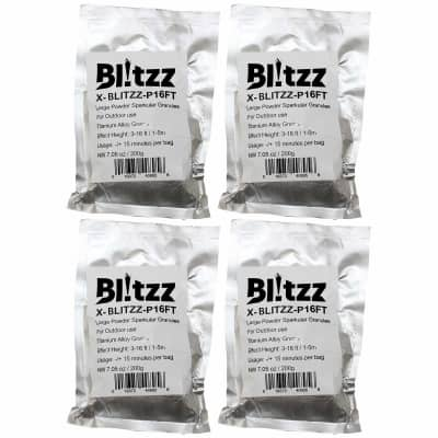 ProX 3-16 Foot High Effect Powder Granules for Cold Spark Blitzz Machine 4 Pack