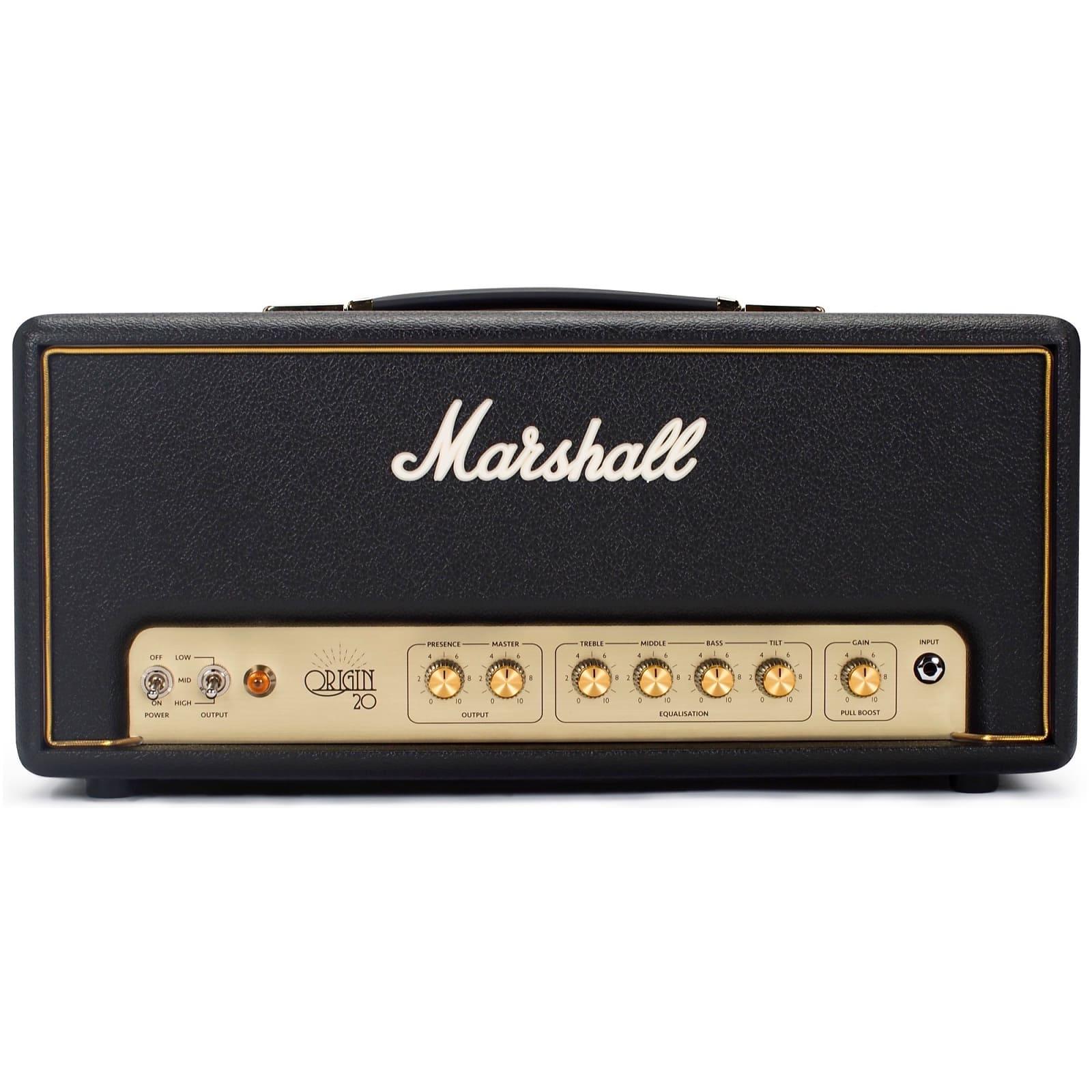 marshall origin 20 ori20h 20 watt guitar amp head reverb. Black Bedroom Furniture Sets. Home Design Ideas