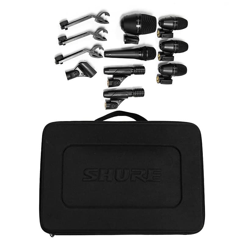 shure pga drum microphone kit 7 piece coalition drum shop reverb. Black Bedroom Furniture Sets. Home Design Ideas