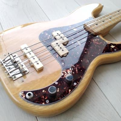 Maya Precision Electric Bass PJ ( Greco, Tokai, Ibanez, Lawsuit, Matsumoku) 1974 Wood for sale