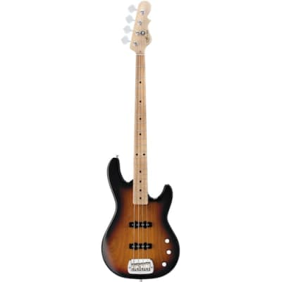 G&L TRIBUTE SERIES JB-2 - Electric Bass with Single Coil Pickups and Saddle Lock Bridge - 3-Tone Sunburst for sale