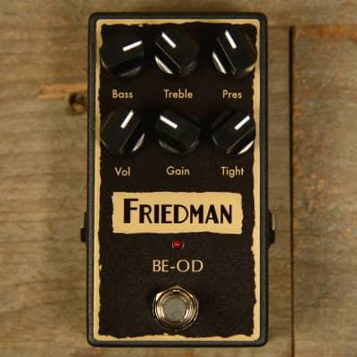 Friedman BE Overdrive Pedal MINT image