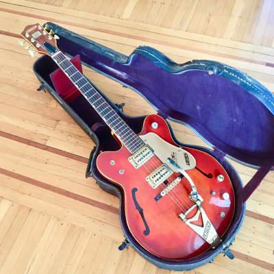 Gretsch 6120 Chet Atkins Orange original vintage USA