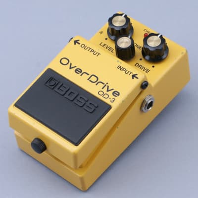 Boss OD-3 Overdrive Guitar Effects Pedal P-14821