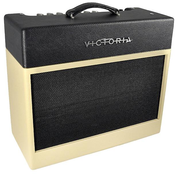 new victoria amp silver sonic black cream reverb. Black Bedroom Furniture Sets. Home Design Ideas