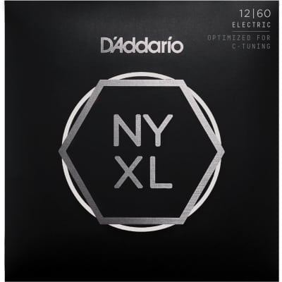 D'Addario NYXL1260 Extra Heavy Nickel Wound Electric Guitar Strings - 12-60 Gauge