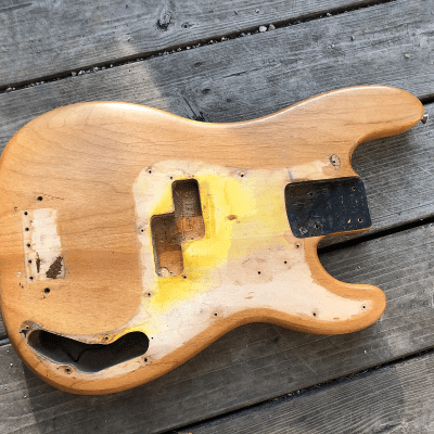 Fender Precision Bass Body (Refinished) 1951 - 1964