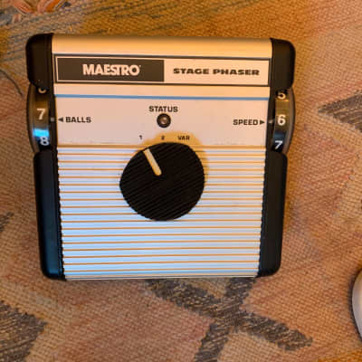 Maestro MSP Stage Phaser 70's guitar effect pedal 1976-1978 for sale