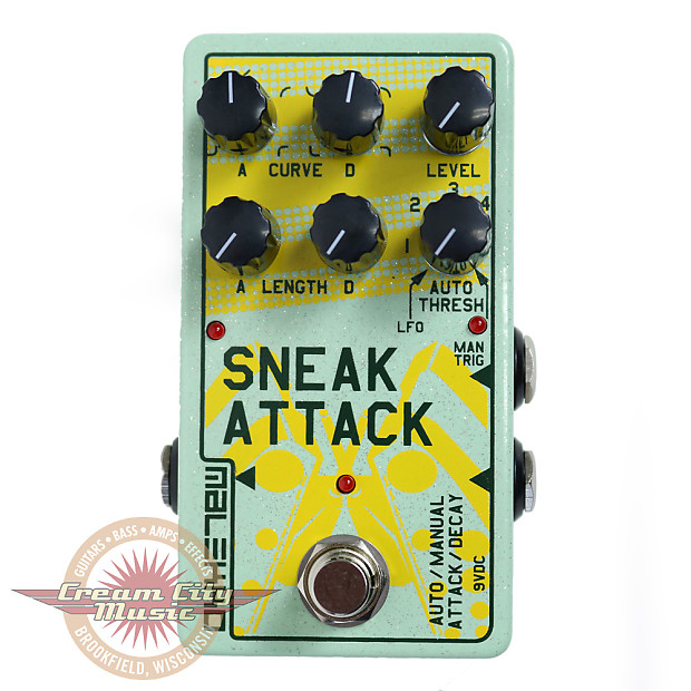 brand new malekko heavy industry sneak attack attack decay reverb