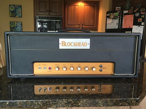 Blockhead Skunkworks Hand Grenade 50 watt high gain Green Day Dookie Tone