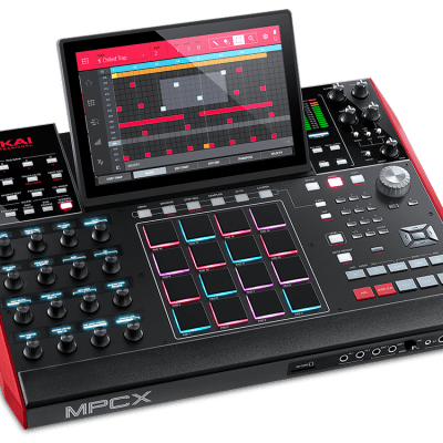 Akai MPC X Professional Standalone Sampler Sequencer Music Production Controller MPCX