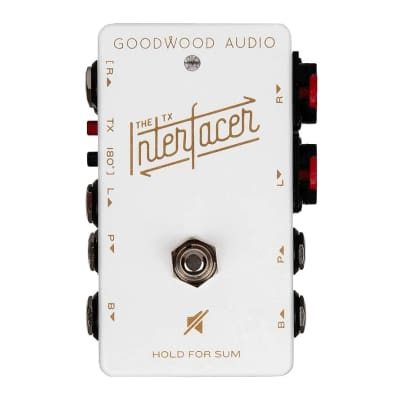 Goodwood Audio The TX Interfacer Stereo Sum and Split Sum Limited White