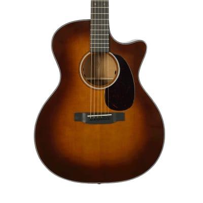 Martin GPC-18E Acoustic-Electric Guitar - Ambertone with Case - Demo