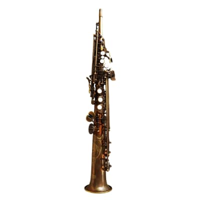 Theo Wanne Mantra Straight Soprano Saxophone - Vintified or Platinum plated finish