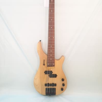 Karera-Jazz Bass Guitar-Made in Korea-c.2002-Great Condition! w/Shop Set Up!