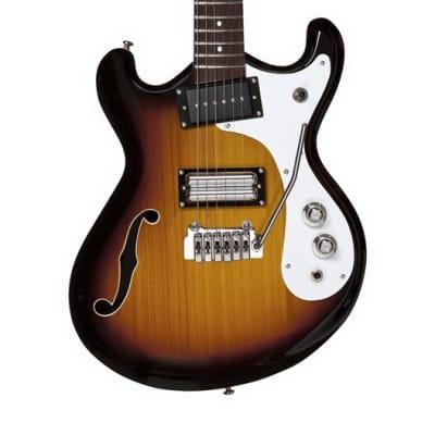 Danelectro '66BT Baritone 6-String Electric Guitar - 3-Tone Sunburst