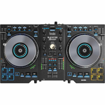 Hercules Jogvision USB DJ Controller w/Jog-Wheel Display & Serato DJ Lite