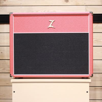 Dr Z. 2X12 Open Back Cab Red/Blk - Express Shipping - (Z-A005) for sale
