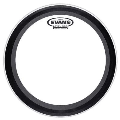 "Evans BD24GMAD GMAD Clear Bass Drum Head - 24"""