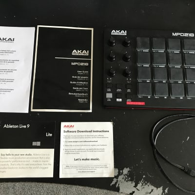Barely Used Akai MPD218 Drum Pad Controller