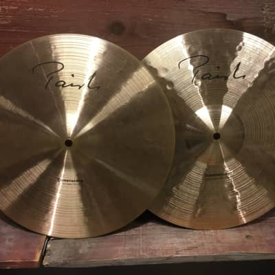 "Paiste 15"" Dimensions Thin/Heavy Hi-Hat Cymbals (Pair)"