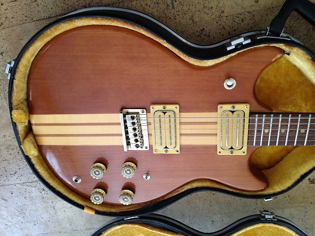 Must See! Very rare / unique neck-thru 70's or early 80's Harmony  (matsumoku?) with possible OHSC