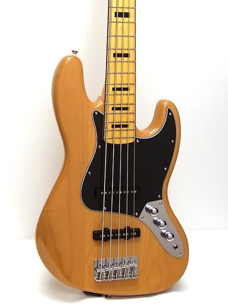 fender squier vintage modified jazz bass v 39 70s 5 string reverb. Black Bedroom Furniture Sets. Home Design Ideas