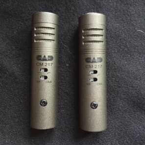 CAD CM217 Small Diaphragm Cardioid Condenser Microphone Stereo Pair
