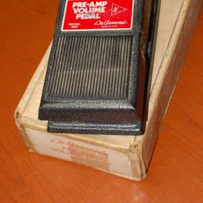 1973 DeArmond Model 1604 Volume Pedal with Preamp Original Box!