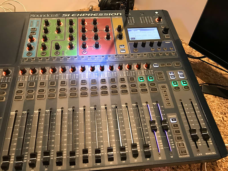 soundcraft si expression 3 digital mixer stewmusicman reverb. Black Bedroom Furniture Sets. Home Design Ideas