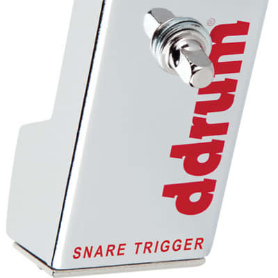 ddrum Chrome Elite Acoustic Drum Trigger for Snare Drum - New Improved Trigger