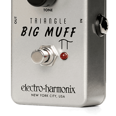 Electro-Harmonix EHX Triangle Big Muff Pi Distortion/Sustainer Guitar Effects Pedal