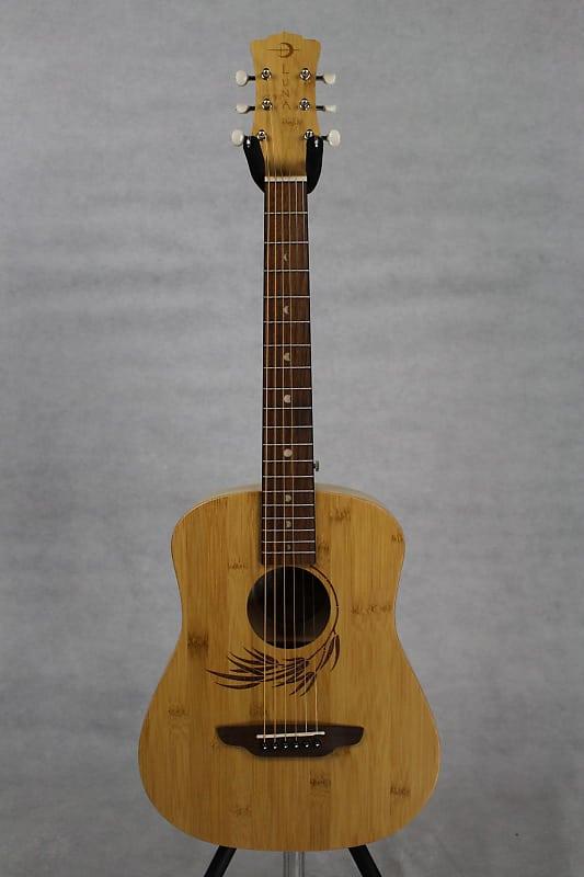 a956478f84 Luna Safari Bamboo Travel Guitar | Music Land | Reverb