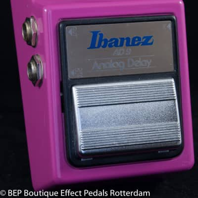 Ibanez AD-9 Analog Delay 1983 Japan s/n 363318, MN3205 chip and JRC4558D op amp