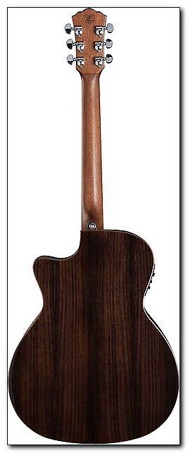 Washburn Grand Auditorium Acoustic Electric Guitar Comfort Cutaway Natural Satin With Traditional Methods Guitars & Basses