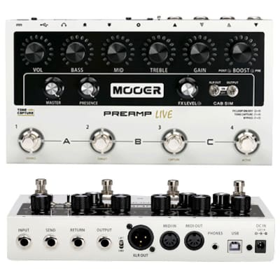 Mooer  Pre-Amp Live NEW! Release Ships Free Make an Offer