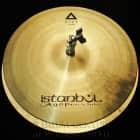 """Istanbul Agop Xist Natural Hi Hat Cymbals 15"""" image"""