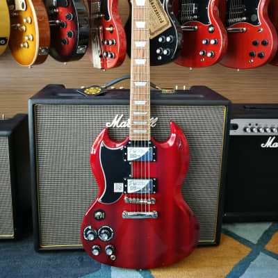 Epiphone G-400 Pro Left-Hand  Cherry for sale