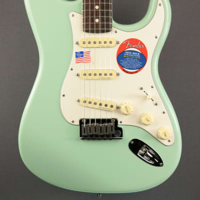 DEMO Fender Jeff Beck Stratocaster - Surf Green (580) for sale