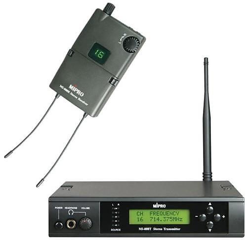 Mipro MI 808 Wireless In Ear Monitor System   Sam's Shop