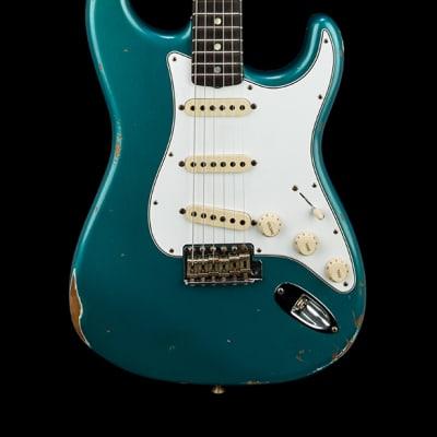 Fender Custom Shop Empire 67 Stratocaster Relic - Ocean Turquoise #46462 for sale