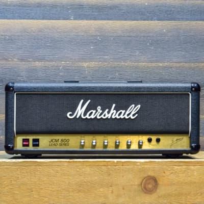 Marshall JCM800 Master Model 50-Watt Mk2 Lead 2204 Guitar Amplifier Head #X17688