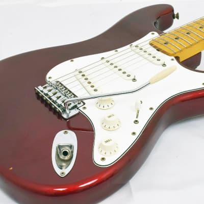 Fender USA 25th Anniversary Stratocaster Candy Apple Red