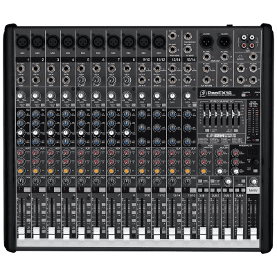 Mackie ProFX16 16-Channel Effects Mixer