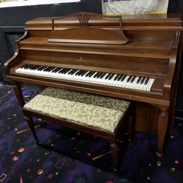 Steinway  Console 40 Piano  Walnut image