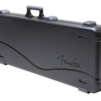 Fender Deluxe Molded Jaguar/Jazzmaster Case, Black for sale