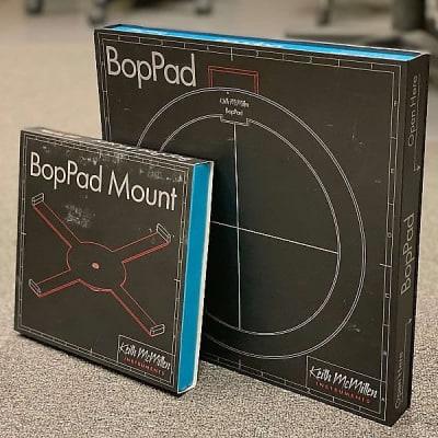 Keith McMillen Instruments Bop Pad Smart Fabric Midi Drum Pad & Bop Pad Mount (K108 & K108MT)