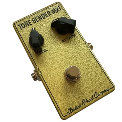 British Pedal Company Compact Series Tone Bender MKI Guitar Fuzz Effects Pedal