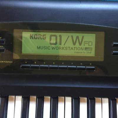 Korg 01/WFD with Hardcase 01/W FD Workstation M1 Synthesizer 01wfd